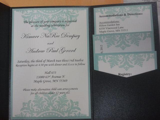 Stampin Up Wedding Invitations: Wedding Invitations