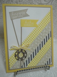washi yellow gray