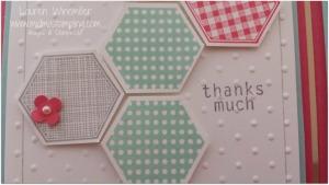hexagon closeup