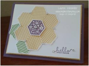 hexagon flower full