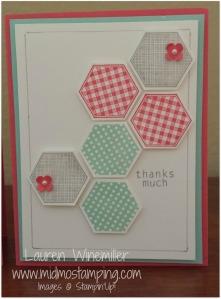 hexagon full plain