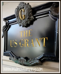 Grant hotel sign