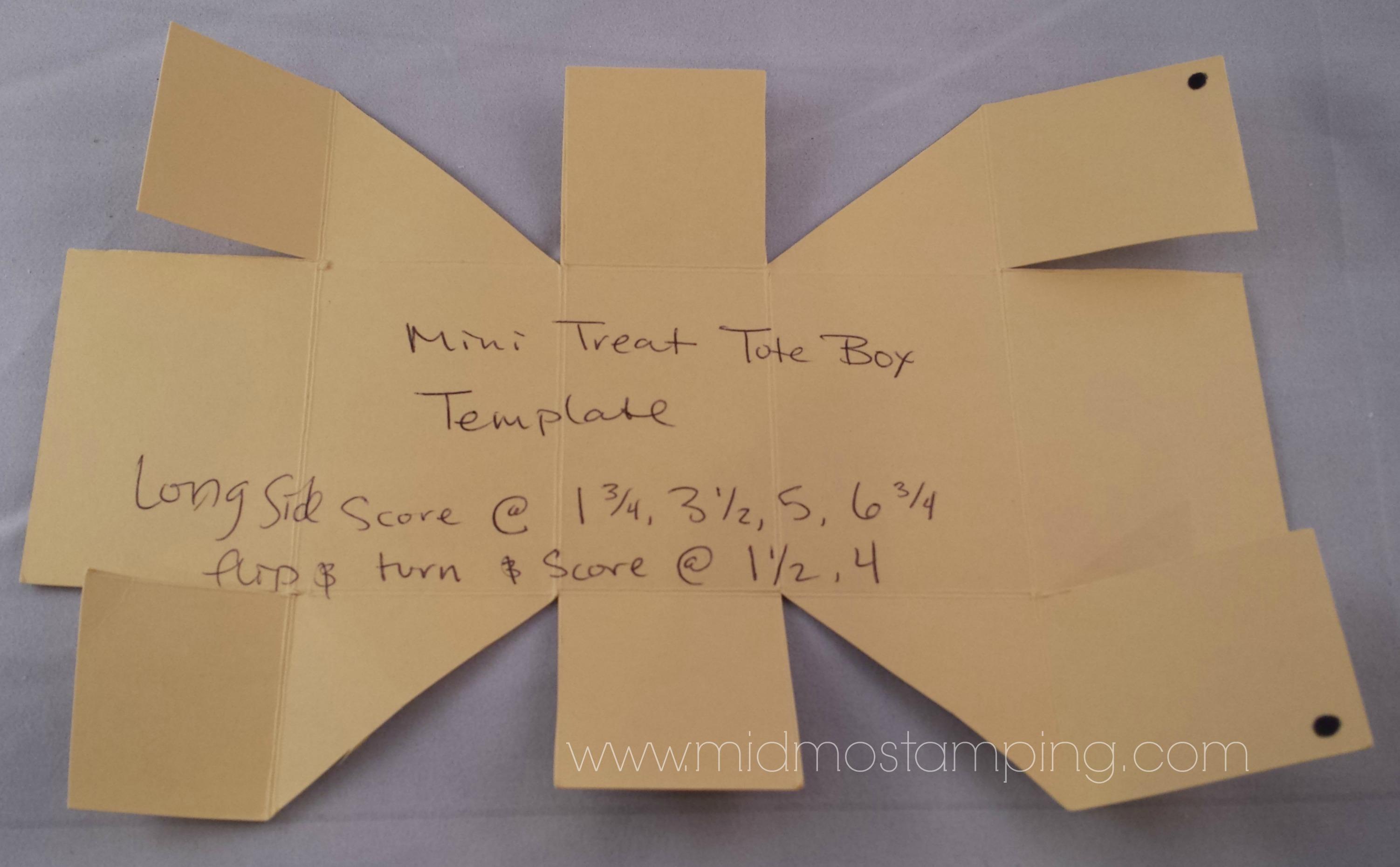 treat box Mid-MO Stamping