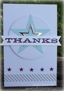 thanks star card